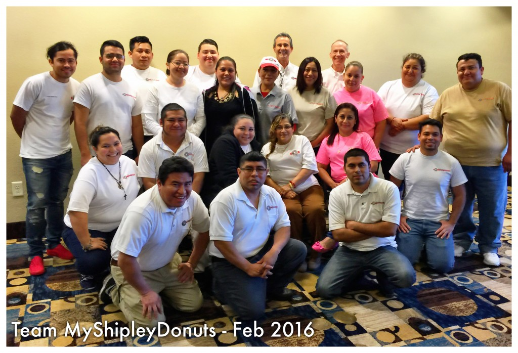 Shipley Do-Nuts Team Photo