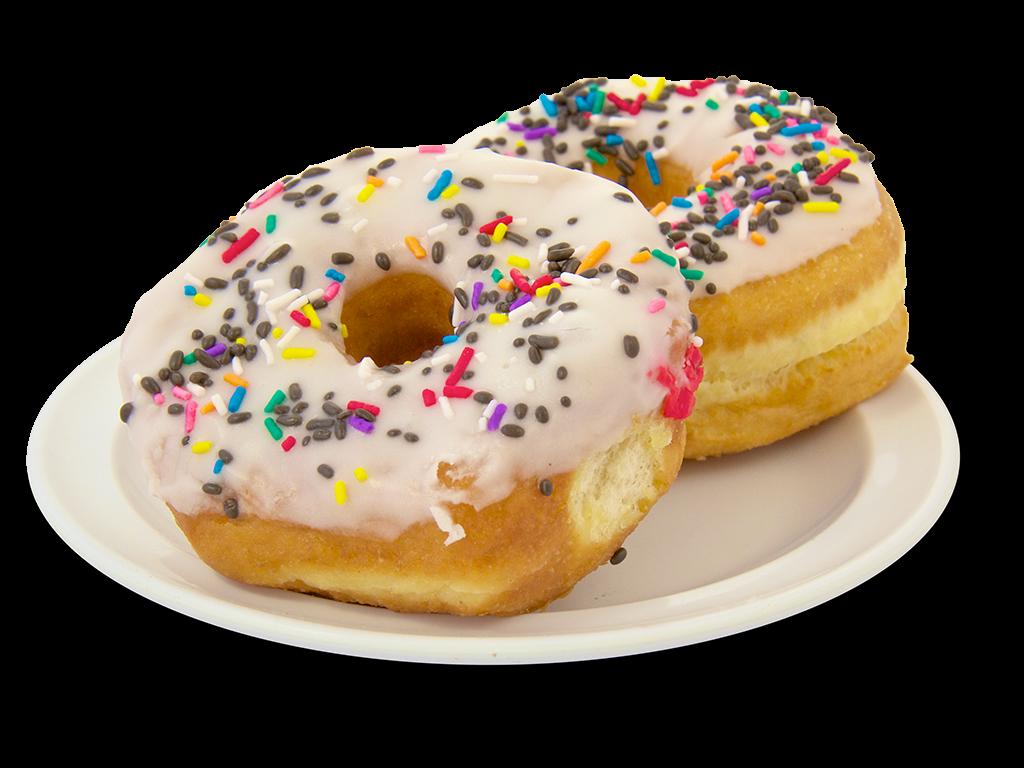 Cherry Cake Donuts