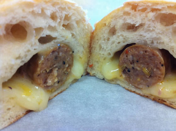 Italian Sausage Kolache best kolache delivery houston