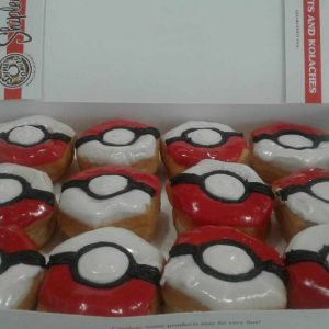 Pokeball Pokemon Donuts