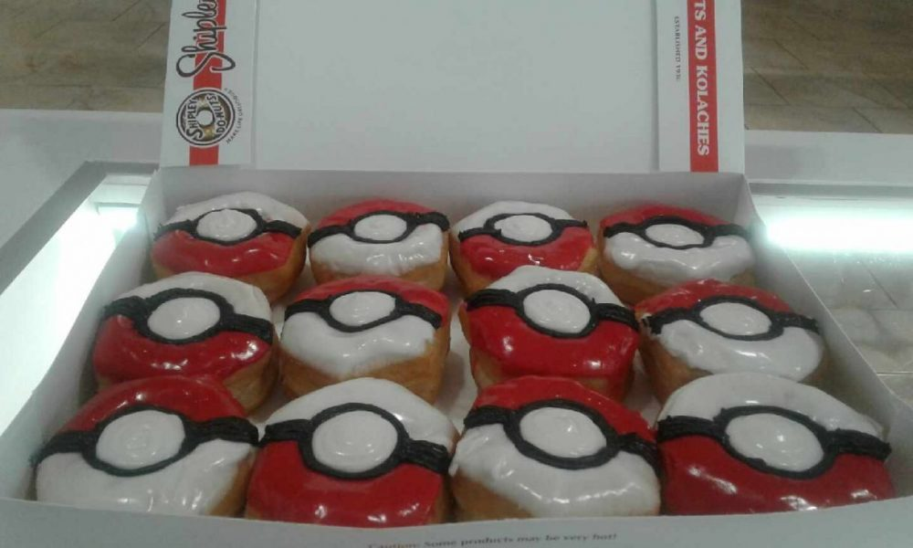 Pokeball Pokemon donuts shop Houston TX