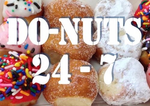 24 hour donut shops