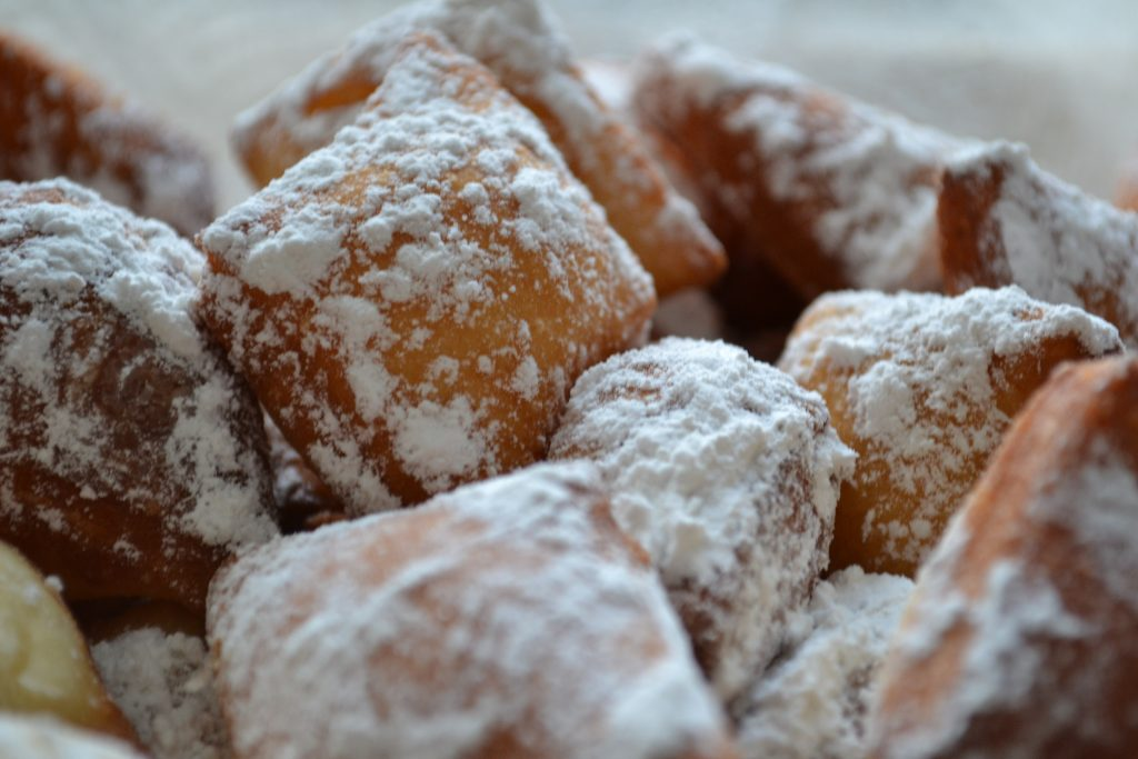 beignets, houston donut shop